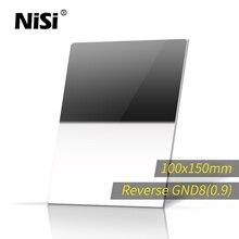 NISI Reverse GND8 100*150mm Platz Filter Optisches Glas Nano IR GND8 Reverse Schrittweise Graufilter
