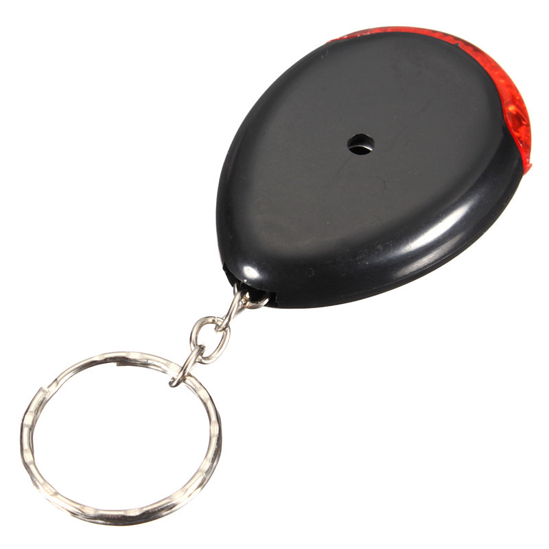 Oval Anti-Lost Finder Whistle Inductor Red LED Light Positioning Tracker Smart Tracker Key Finder Safely Security inductor 10uh 4d28 package