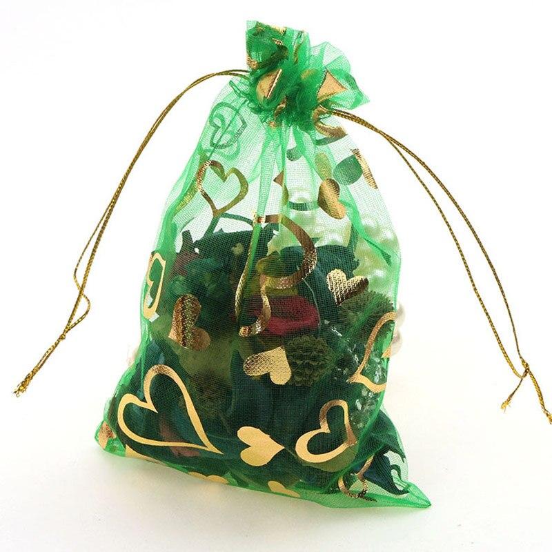 green-gold heart