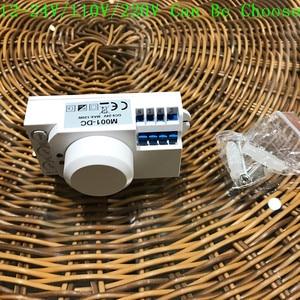 Image 4 - Neue Ankunft 12v/110v/220v 360 grad Mikrowelle Sensor Licht Schalter Induktion Mikrowelle Motion Sensor pir motion sensor