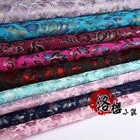 Тканые дамасской hanfu вечернее платье детская одежда подушка расширенный потому одежды жаккардовые ткани парчи jack purcell серии