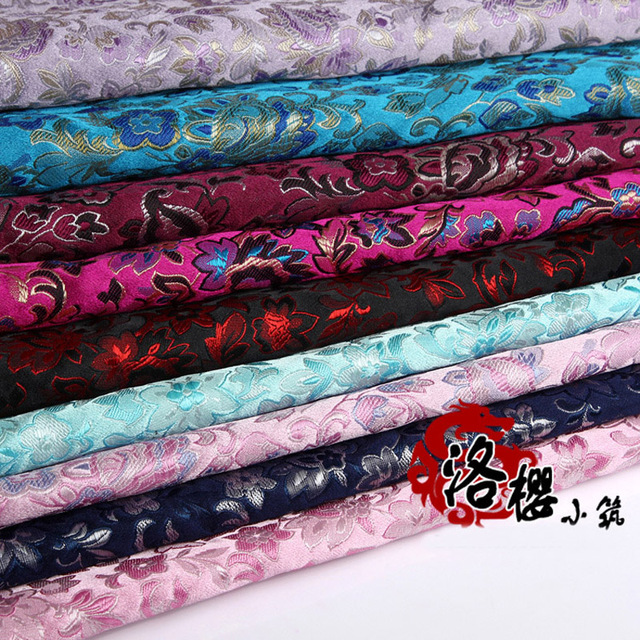 Woven damask hanfu formal dress baby clothes pillow advanced cos clothes jacquard brocade fabric jack purcell series