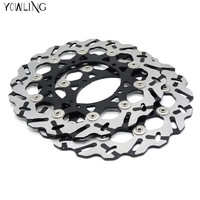 2 Peiecs High Quality Motorcycle Accessories Front Brake Discs Rotor For YAMAHA MT 01 1670CC 2005