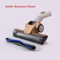 32mm Universal Nozzle Turbo brush for vacuum cleaner Samsung Electrolux Philips LG Haier Midea etc Spare parts Brushes
