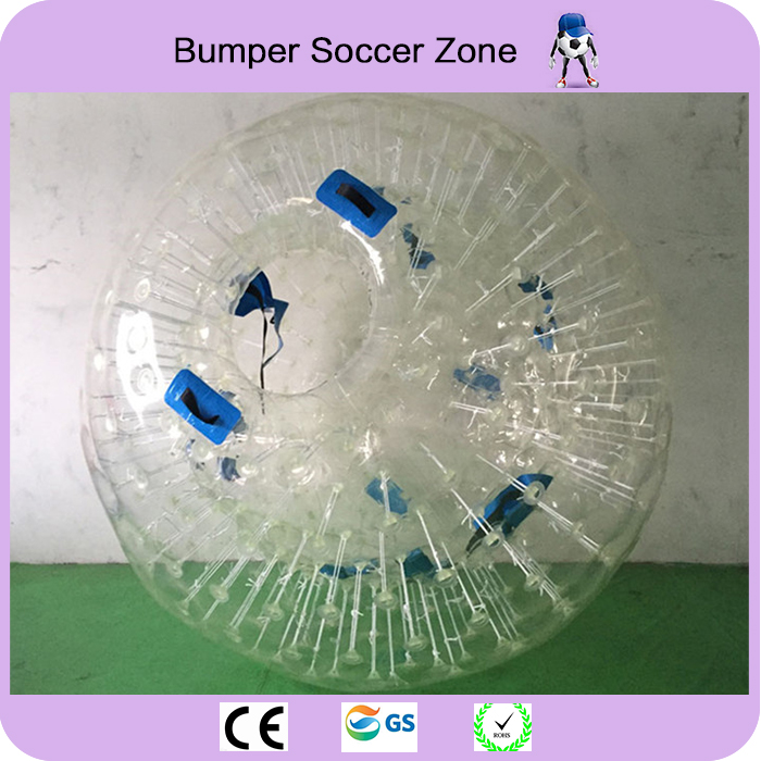 Free Shipping Customized Design 2.5m 100%TPU Inflatable Zorb Ball 0.8mm PVC Body Zorb Ball For Sell 6 5ft diameter inflatable beach ball helium balloon for advertisement
