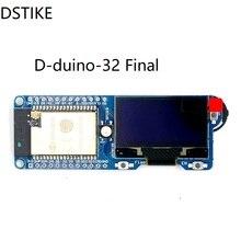 DSTIKE D duino 32 SD النهائي ESP32 OLED TF بطاقة