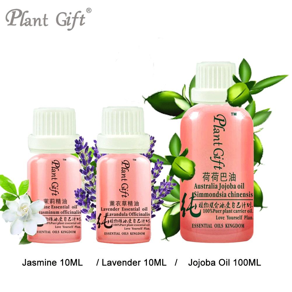 Moisturize Skin Delay Aging 100% Pure Jasmine / Lavender / Jojoba Oil Remove Scars Fade Stretch Marks Aromatherapy Jasmine Oil eos крем для бритья lavender jasmine объем 207 мл