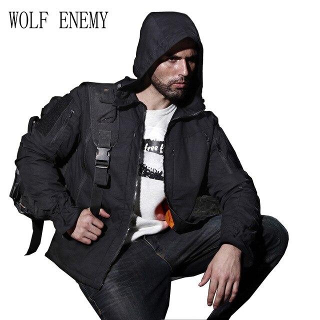 Veste de chasse Multicam tropique Camo MTP Ripstop veste de chasse sur le terrain pour veste de chasse en plein air avec capuche