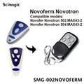 NOVOFERM NOVOTRON 502 MAX43-2, 504 MAX43-4 сменный пульт дистанционного управления гаражными дверями 433,92mhz