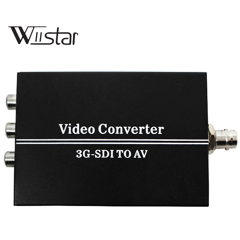 3G SDI to AV Converter BNC to RCA Audio Scaler Support convert SD-SDI,HD-SDI,3G-SDI Signal For TV bnc м клемма каркам