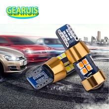 100 pièces 12 V 24 V T10 Canbus 19 SMD 3030 sem erros Nao polaridade Spot 168 W5W 194 voiture