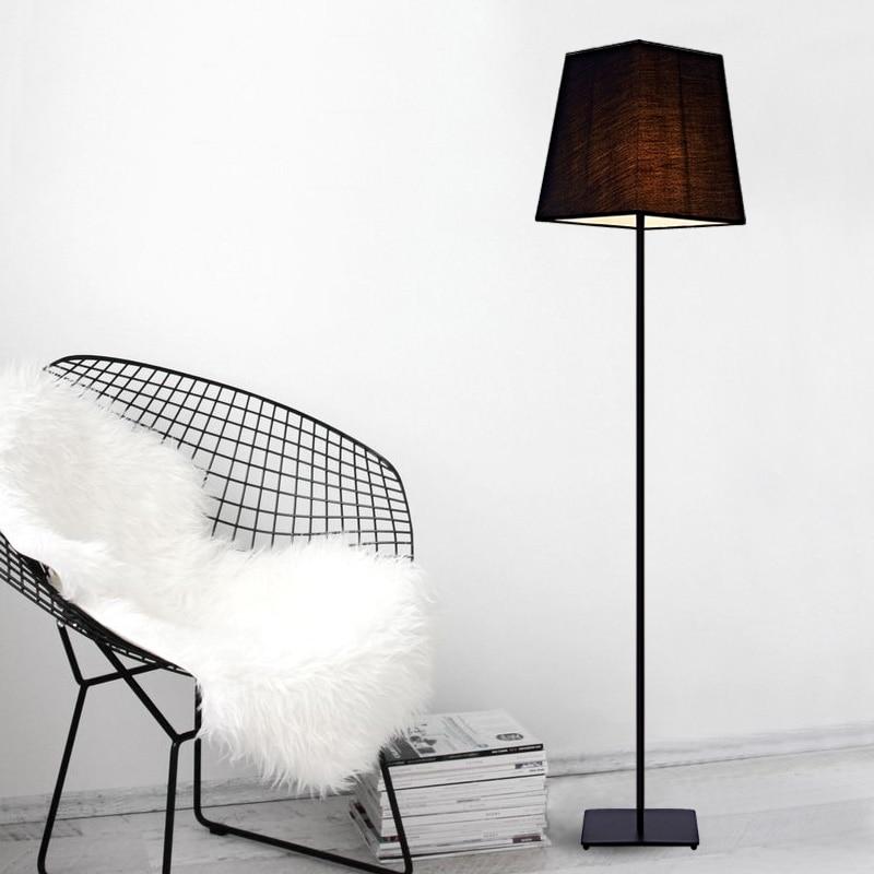 フロアランプクリエイティブアメリカンリビングルーム寝室スタディ釣りライト布テーブルランプ現代のシンプルなベッドサイドFG760 -
