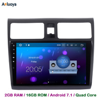 Aoluoya 1024 600 2GB RAM Quad Core Android 7 1 Car Audio DVD GPS Player For