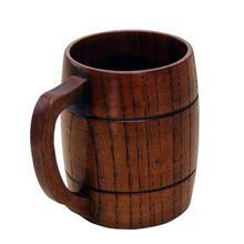 2016 neue 400 ml/15 unze Handgemachte Barrel Saft Bierkrüge Holz Tee Tassen Holz Bier-becher-getränk-schale Durable Tasse