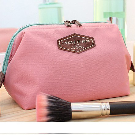Cosmetic Bag Women Plaid Waterproof Professional Toiletry Kit Wash Necessaire Travel Organizer Make up Bags