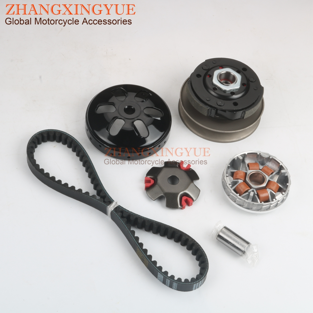 Scooter high quality Clutch Kit &Variator & 669 Belt for SYM Fiddle 2 Orbit 1 Symply 50cc GY6 139QMA/B 10 inch 4-stroke