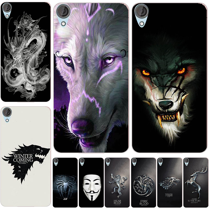 Lovely Cartoon Phone <font><b>Cases</b></font> For <font><b>HTC</b></font> <font><b>Desire</b></font> Eye 830 828 826 825 820 <font><b>816</b></font> 728 610 <font><b>Case</b></font> Animal Cat Pattern Cover Printed Coque image