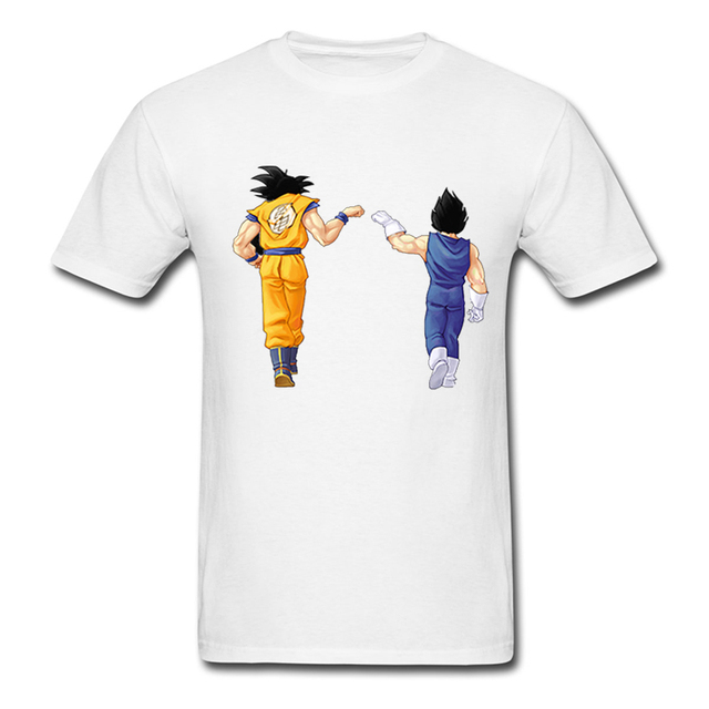 Dragon Ball Z Men's T Shirt DBZ Dragonball Z Goku Vegeta Saiyan Fashion Design Mens Womens Boys Basic Top Tee T-shirts Plus Size