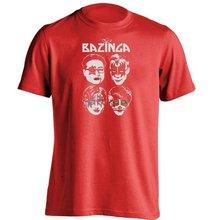 Amazing Bazinga's KISS unisex T-shirt