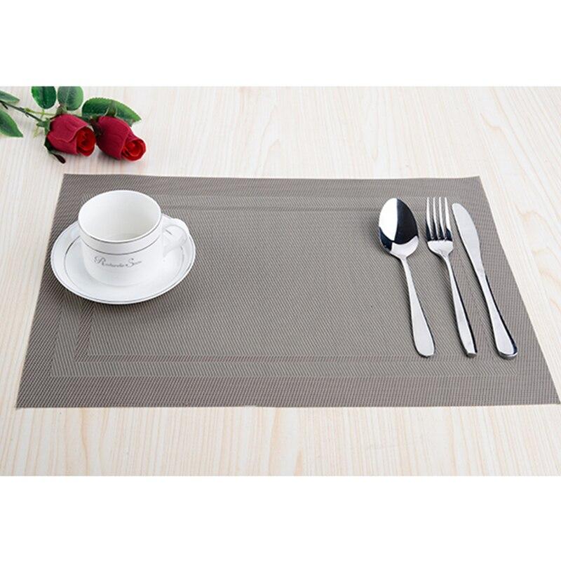 8pcs / lot PVC köksdisplay Placemats för matta manteles - Kök, matsal och bar - Foto 5