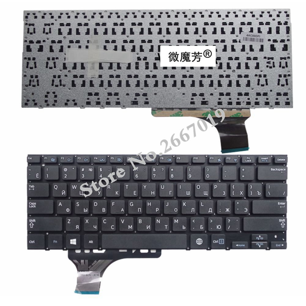 RU black New FOR NP 530U3C 530U3B 535U3C 540U3C 532U3C Laptop Keyboard Russian
