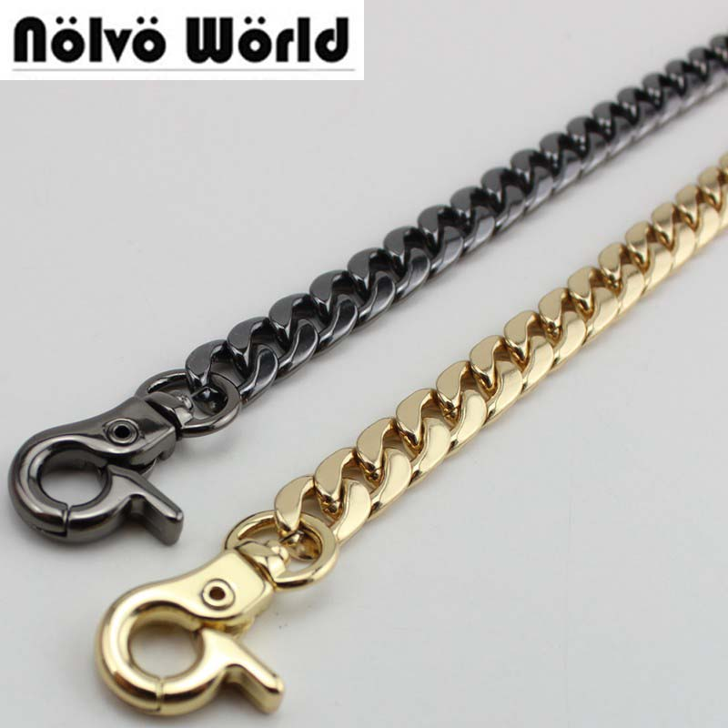 100/120/130cm 9mm Width High Quality Plating Cover Wholesale Chains Bags Purses Strap From DIY Accessory Factory Directly Hard