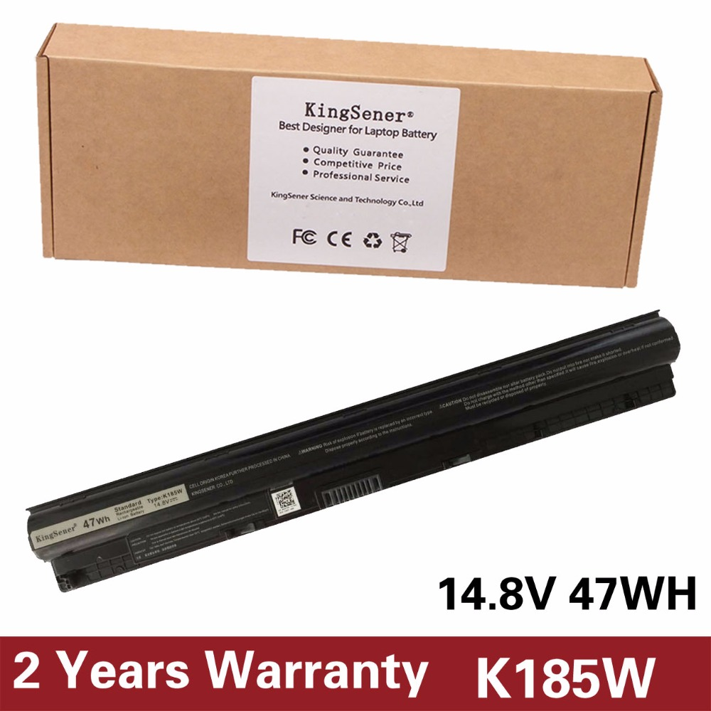 Japanese Cell K185W Battery For DELL 3451 3551 3458 5458 3551 3558 5451 5455 5551 5555 5558 5758 K185W M5Y1K WKRJ2 GXVJ3 HD4J0 new power button board for dell inspiron 14 5455 15 5555 5558 5559 3558 switch board ls b844p