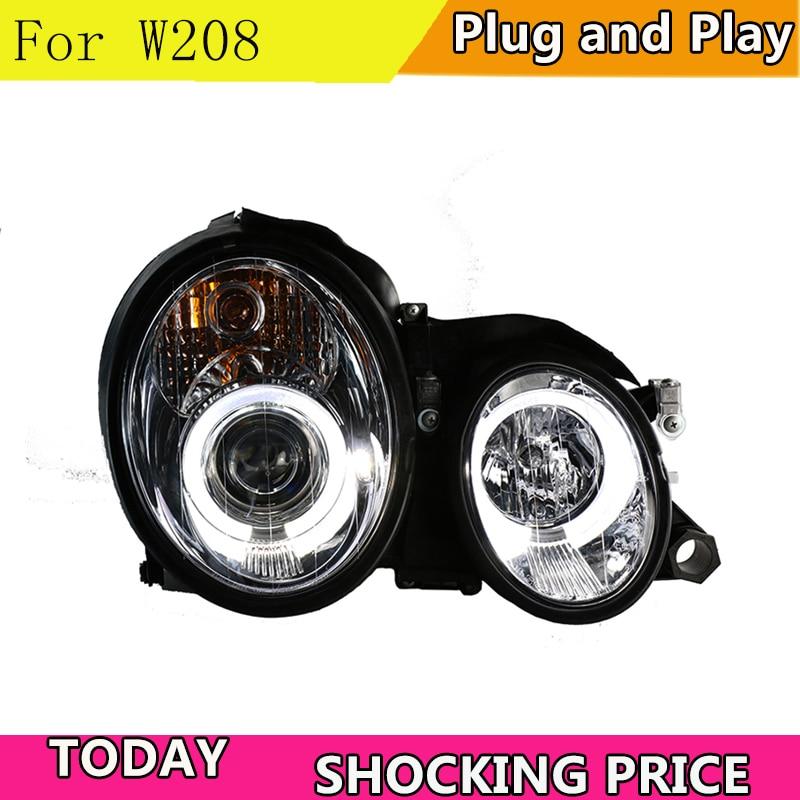 doxa Car Styling LED Head Lamp For Mercedes Benz GLK W208 C63 C200 C230 C280 C300