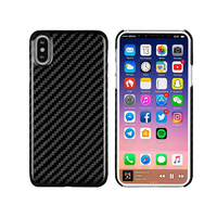 LANBEIKA 0.7mm Ultra Thin Real Carbon Fiber Case Cover for iPhoneX Luxury Full Side Protect Carbon Fibre Phone Case for iPhone X