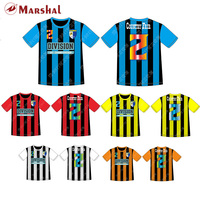 Strips Soccer Jersey Wholesale Custom Your Own Design Soccer Shirt Sublimation Football Jersey