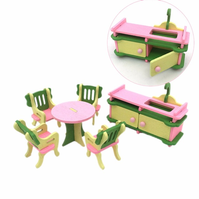 7 styles kids play house wooden toy set dressing table childrens 7 styles kids play house wooden toy set dressing table childrens chairs wood furniture kitchen combination workwithnaturefo