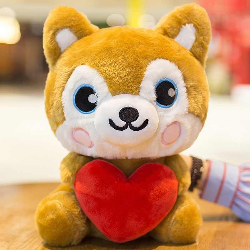 Bichos de pelúcia plush husky filhote de cachorro macio kawaii boneca presentes namorada presente de aniversário presente das crianças cor escolher 25 2 cm /35 cm