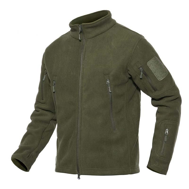 Men Military Tactical Winter Fleece Jacket Outdoor Sport Warm Thermal Coat Hiking Camping Trekking Skiing Fishing