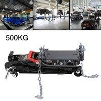 Transmission Jack Trolley Jack Cradle Support Plate 500 Kg Lifting Capacity Lift Jack Stand Hoist Stand