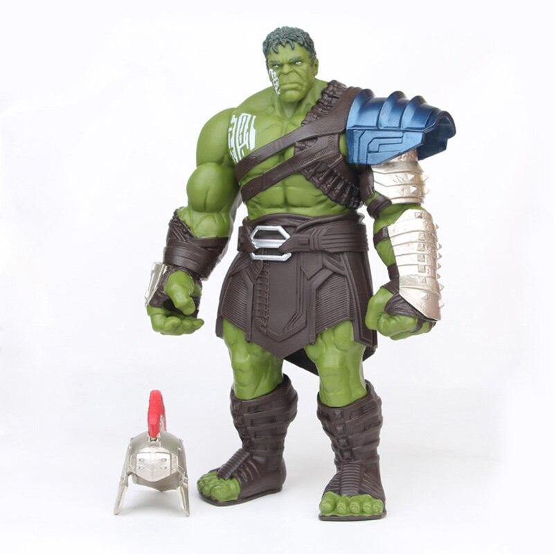 Marvel os vingadores super-herói thor 3 ragnarok mãos moveable guerra martelo batalha machado gladiador hulk bjd figura de ação modelo brinquedo