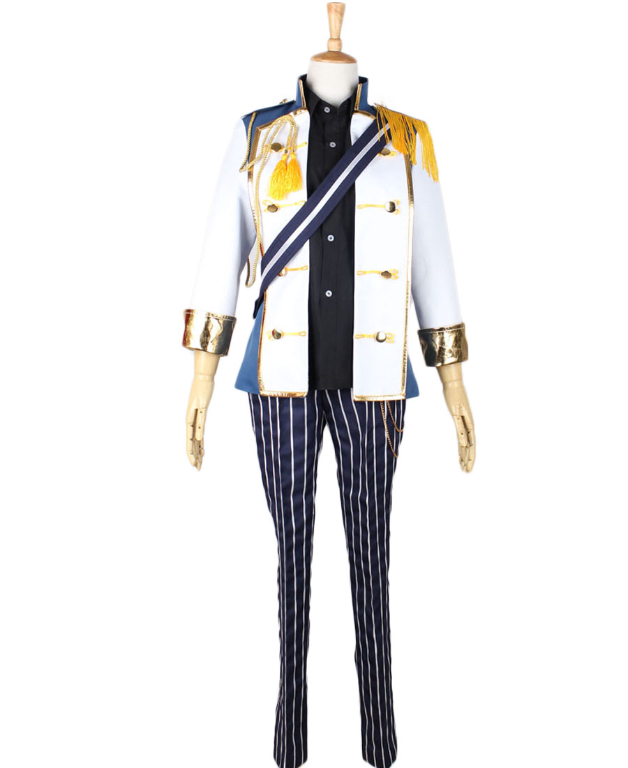 Ensemble Stars Leo Tsukinaga Singing Cosplay Costume