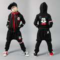 Kids tracksuit 4-14T boys clothing  hiphop children's sports suits Mickey children clothing suit for boys teenage girls clothing