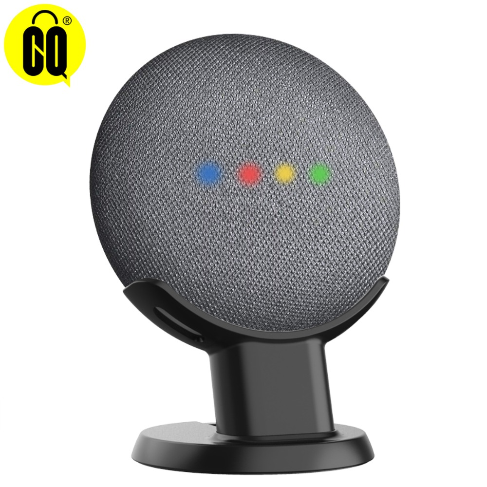 New Desktop Stand For Google Home Mini Voice Assistants, Compact Holder Case Plug in Kitchen  BedroomNew Desktop Stand For Google Home Mini Voice Assistants, Compact Holder Case Plug in Kitchen  Bedroom