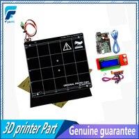 Reprap Prusa I3 MK2 MK2S 3d Printer Mini Rambo 1 3A Motherboard Kit Black PEI Aluminum
