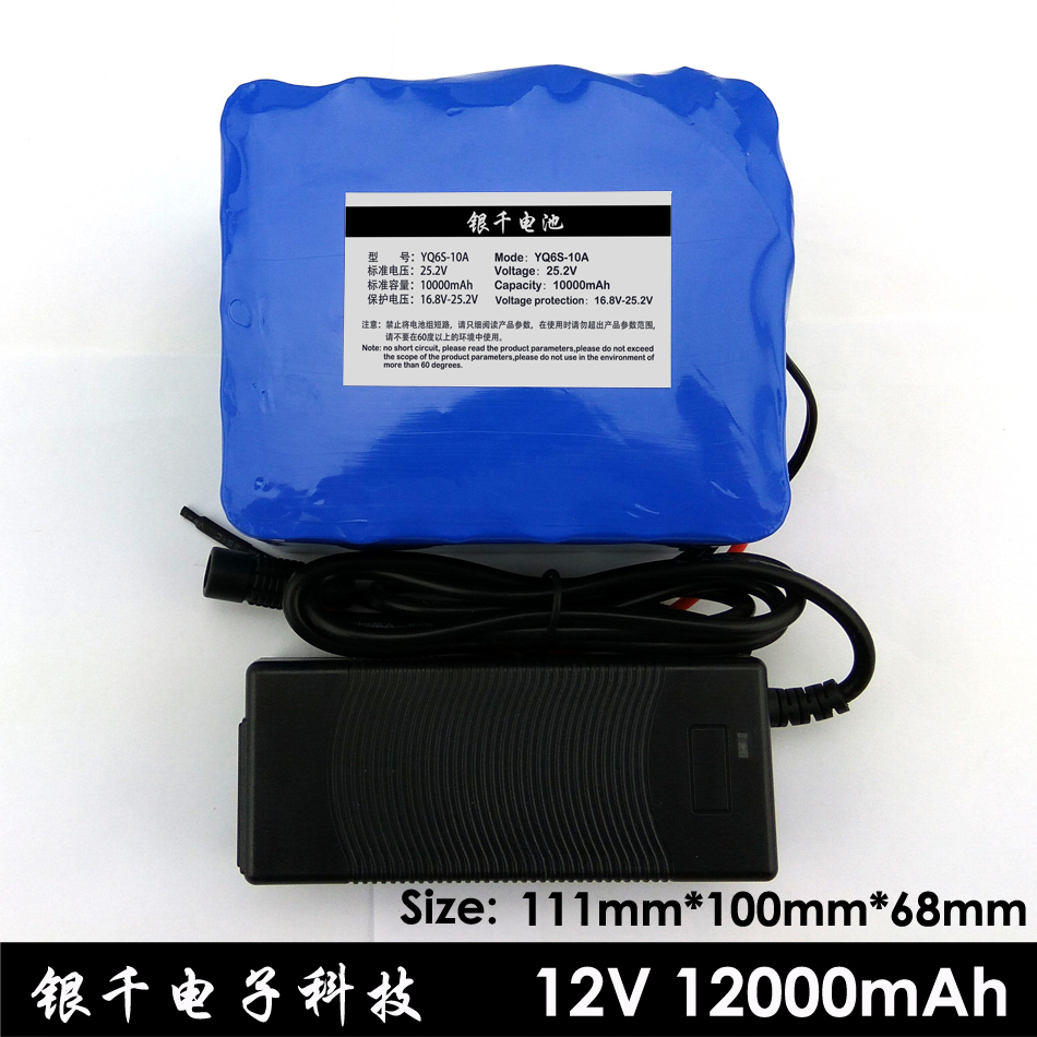 24V 10Ah 6S5P 18650 Battery lithium battery 25.2v electric bicycle moped /electric/lithium ion battery pack+1A charger 30a 3s polymer lithium battery cell charger protection board pcb 18650 li ion lithium battery charging module 12 8 16v