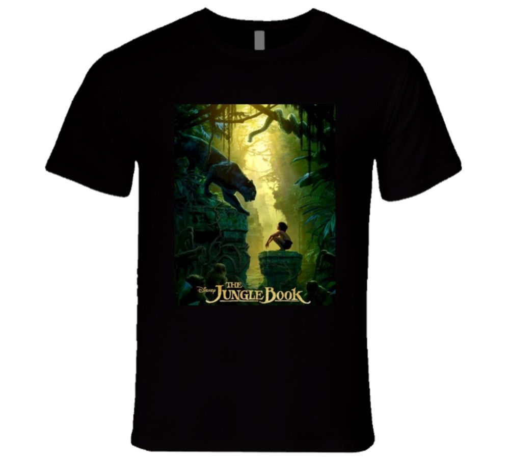 The Jungle Book Real Life Movie 2016 Cool Concept T Shirt