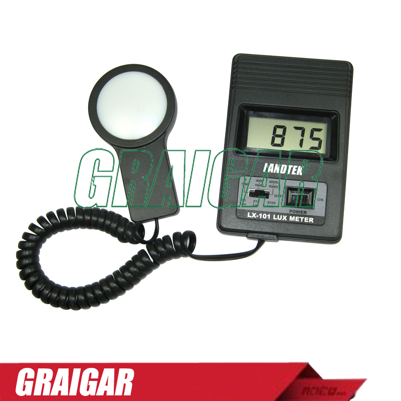 Free shipping LX-101 Digital Handheld Lux Meter digital professional lux meter free shipping range 0 30000 lux st8050 st 8050