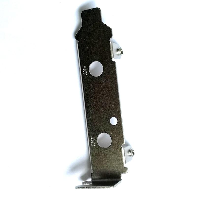 2 шт./упак. PCI-e Wi-Fi адаптер 2U 8 см кронштейн с низким профилем кронштейн с половинной высотой для SFF настольного ПК