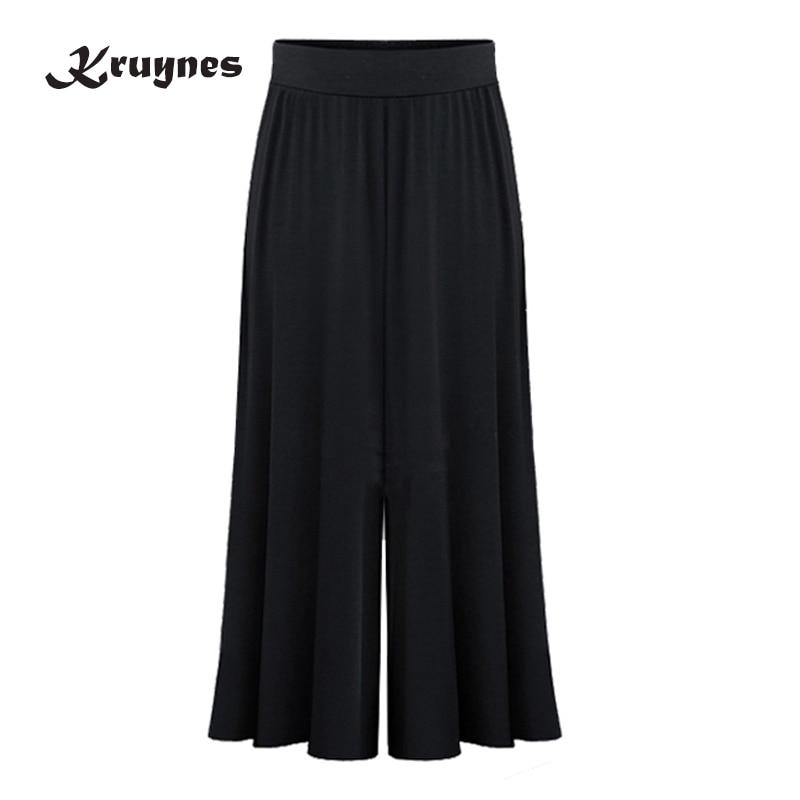 2018 New Arrival Plus Size Xl 6xl Summer Women Wide Leg Loose Dress