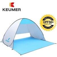 KEUMER Automatische Camping Zelt Schiff Von RU Strand Zelt 2 Personen Zelt Instant Pop Up Öffnen Anti UV Markise Zelte outdoor Sunshelter-in Zelte aus Sport und Unterhaltung bei