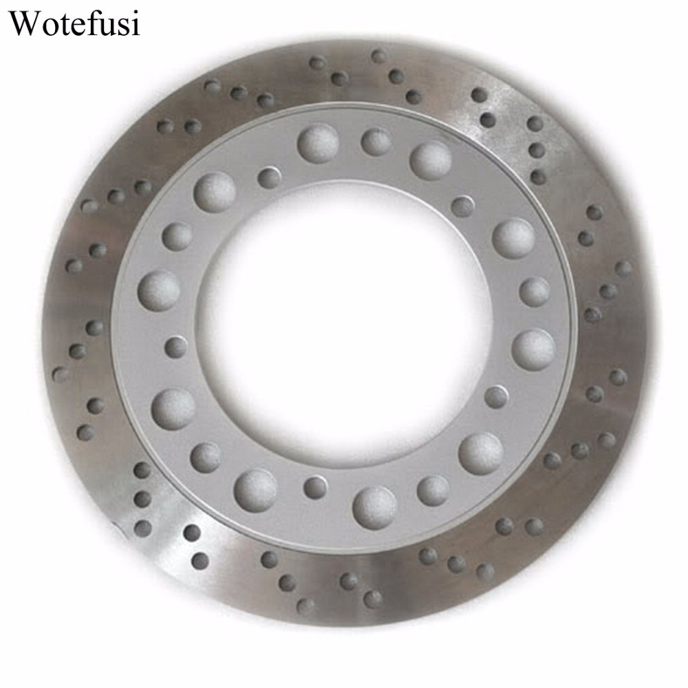 Wotefusi Front Brake Disc Rotor For Honda NV400 Steed 92-93 VT600 Shadow Custom 94-00 [MT78] motorcycle brake parts brake pads for honda nv400 nv 400 cj ck steed 1992 1993 front motor brake disks fa124