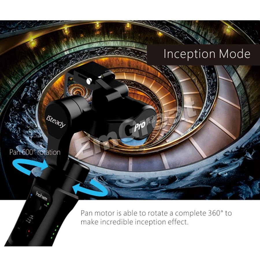 Hohem iSteady Pro 2/Pro брызг 3 осевой ручной однажды для DJI Osmo Экшн камера Gopro Hero 7/6/5/4/3 SJCAM YI экшн камер - 5