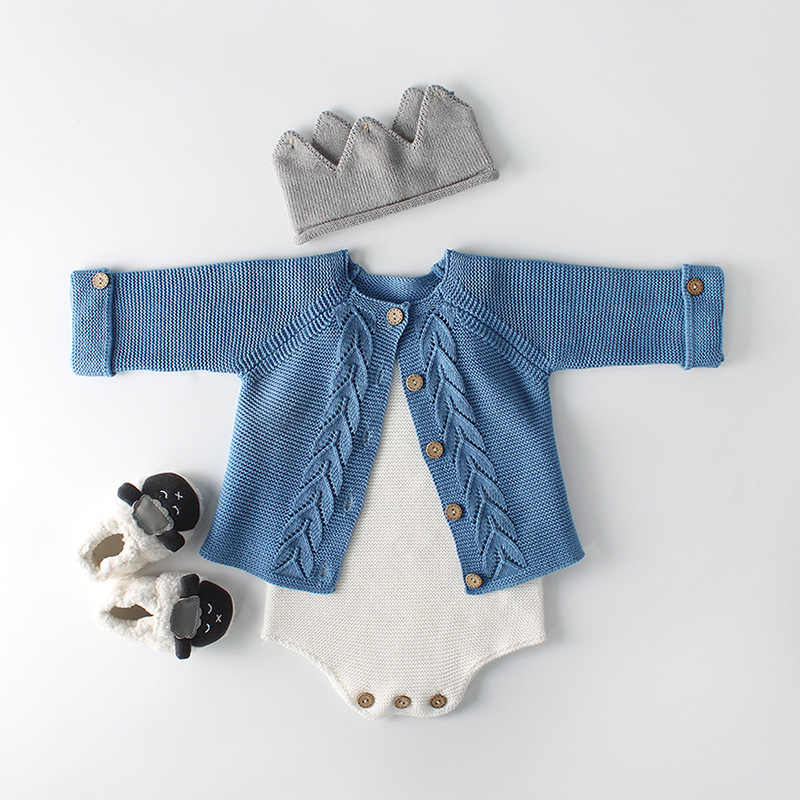 fe008c184 2018 Newborn Baby Girl Cardigan Baby Girls Clothes Autumn Baby knitted  Outerwear & Coats Infant Boys