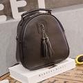 Leather Backpack Women Bags Preppy Style Mini Backpacks Small Girls School Bag Zipper Shoulder Women's Back Pack Mochila Colegio