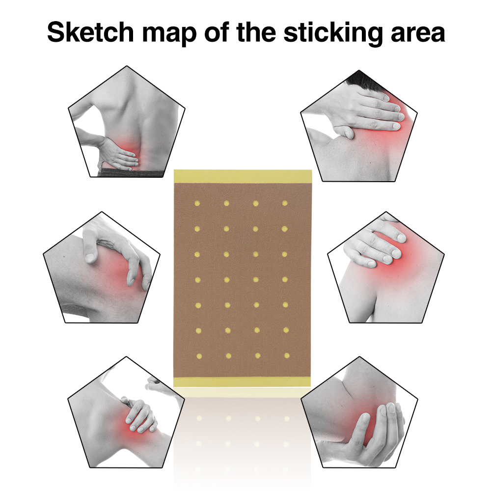 100pcs = 10bags Сөмкелер Joint Ache Magnet Pain Patches - Денсаулық сақтау - фото 3